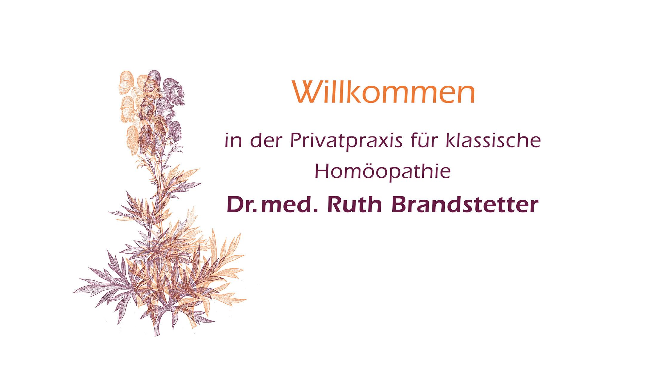 Privatpraxis für klassische Homöopathie Dr. med. Ruth Brandstetter - Willkommen!